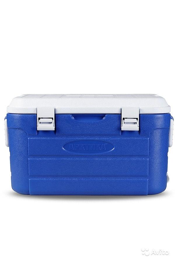 Изотермический контейнер синий Арктика, 60 литров