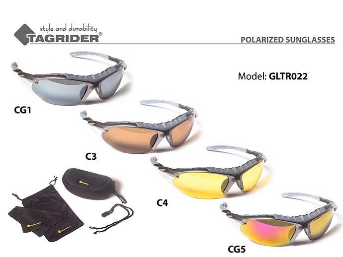 Очки рыболова поляризационные Tagrider в чехле GLTR 022 уплотнитель EVA
