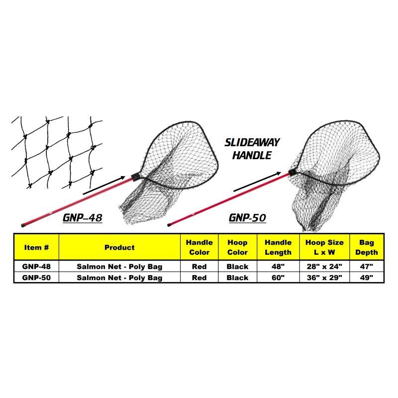 Подсачек Gibbs Salmon GNP-50