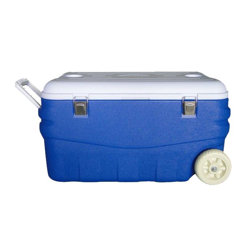 Изотермическийтермо контейнер синий Арктика, 100 литров
