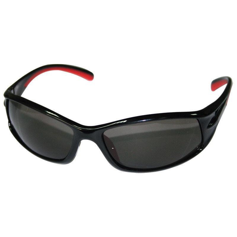 Очки рыболова поляризационные Sunglasses black/red