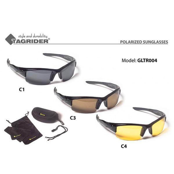 Очки рыболова поляризационные GLTR 4 Tagrider, Янтарная линза