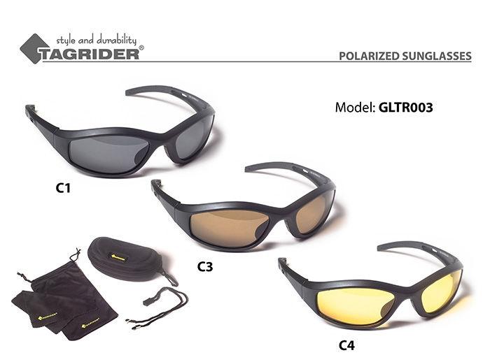 Очки рыболова поляризационные GLTR 3 Tagrider, Янтарная линза