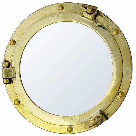Фото рамка - Иллюминатор, латунь 210х150 мм