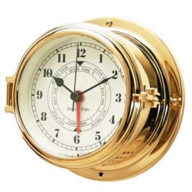 Часы морские латунные сувенирные