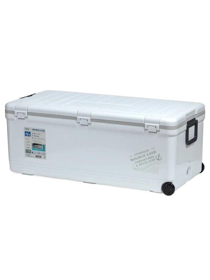 Термобокс SHINWA Holiday Land Cooler 76H белый