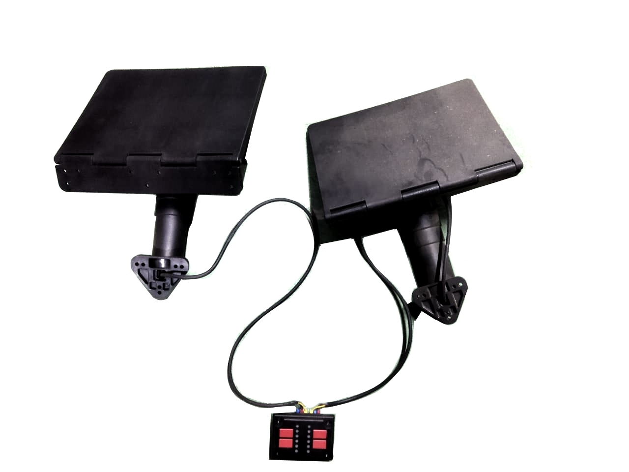 TRM001 Транцевые плиты (2шт) привод электрический L310*W220mm