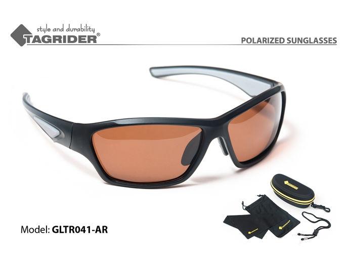 Очки рыболова поляризационные Tagrider в чехле GLTR 041