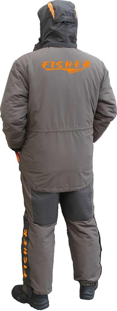 Костюм рыбака зимний до -30 Норд Фиш, 50-52 рост 176