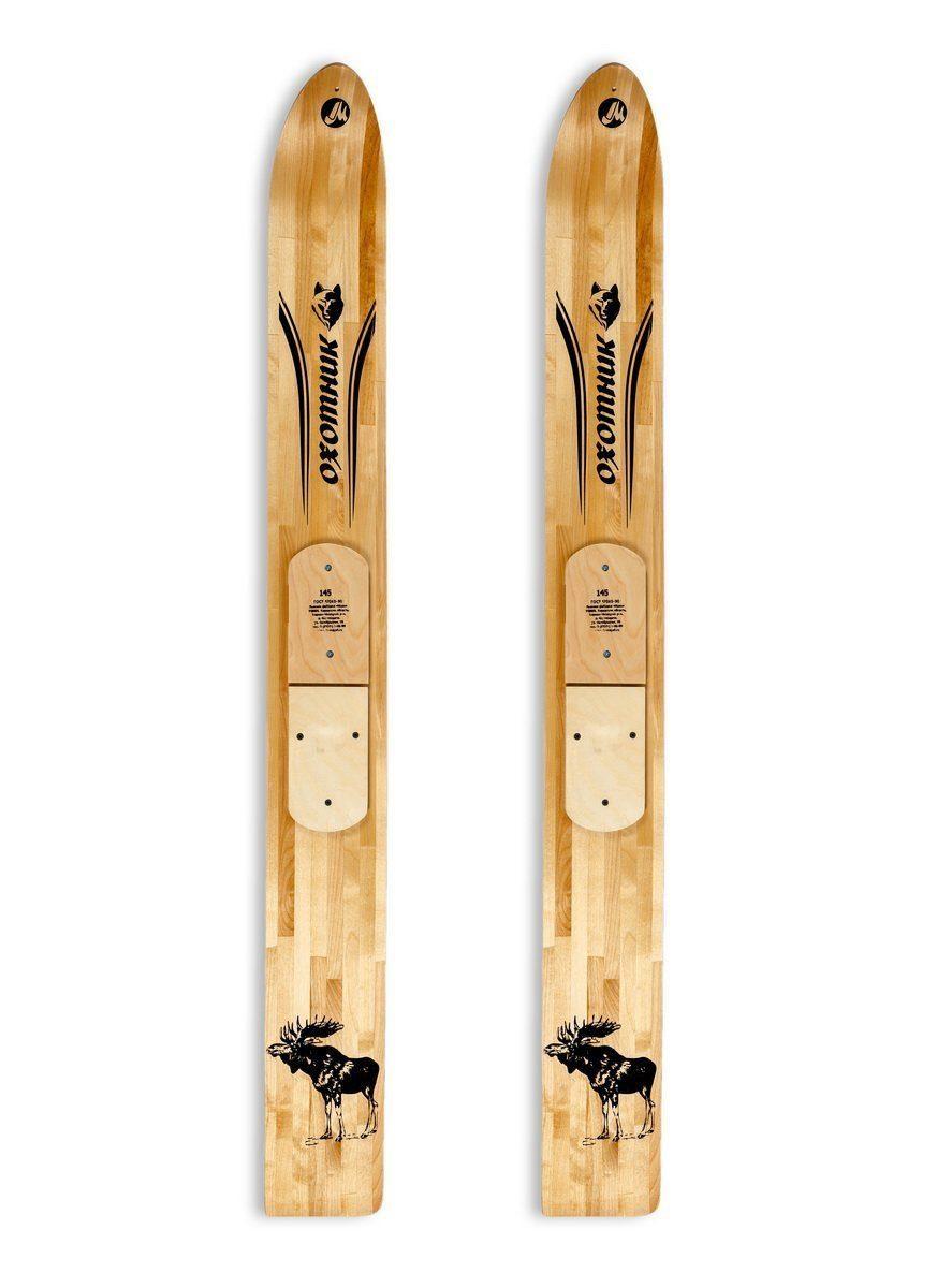 Лыжи деревянные Охотник 155 см