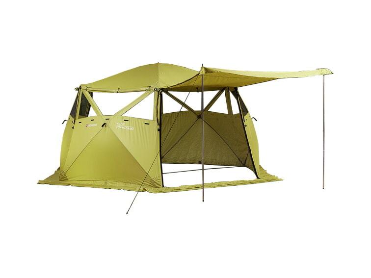Кухня-шатер HIGASHI Yurta Сamp Olive II купить с доставкой