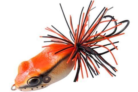 Приманка лягушка Marsh Frog рыжая 4,5см 10,5г