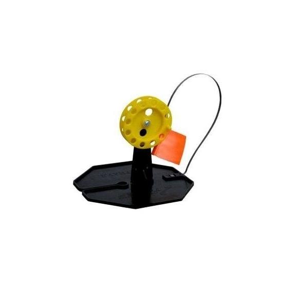 Жерлица на подставке оснащенная ЖЗО-05 (d-210мм.катушка d-63мм)