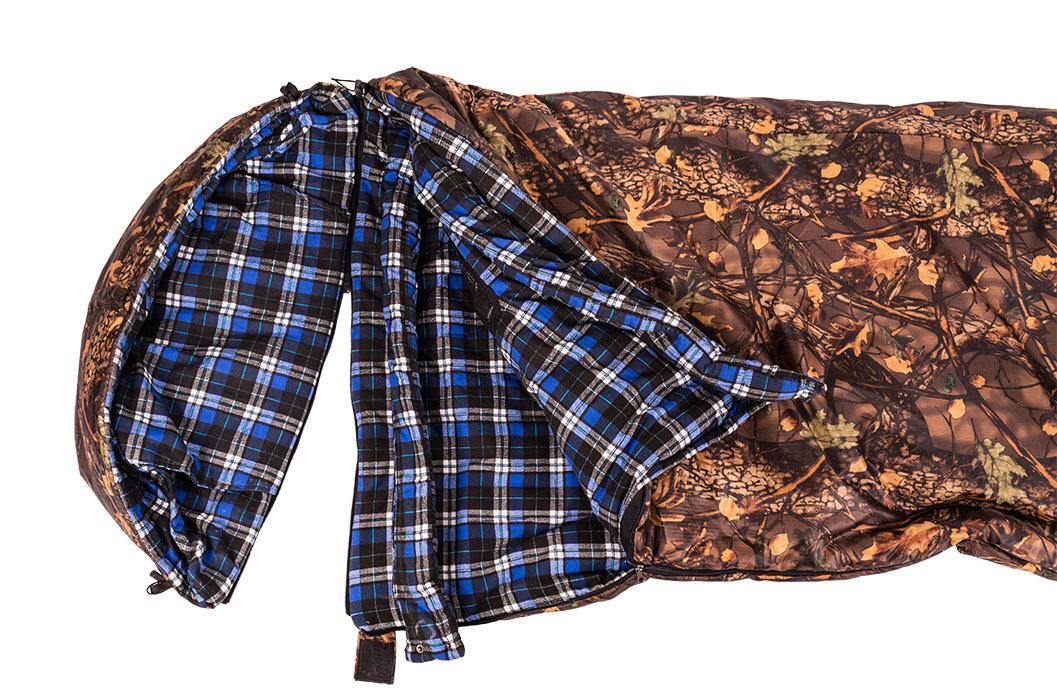 Спальный мешок Зима с капюшоном, одеяло 1,0-1,8 м