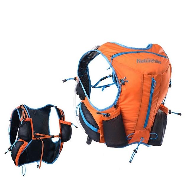 Рюкзак NATUREHIKE Running Camping Backpack - DuoGi , 12 литров, цвет sea blue
