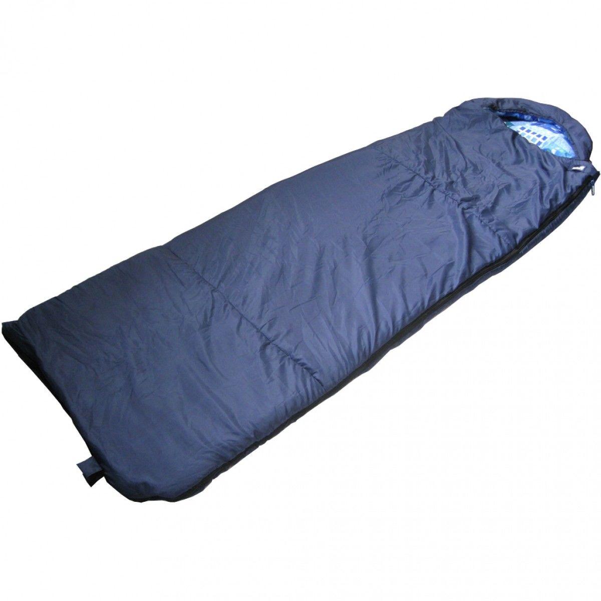 Спальный мешок БАТЫР СОК-2 (220*70) синий (синтепон) Helios