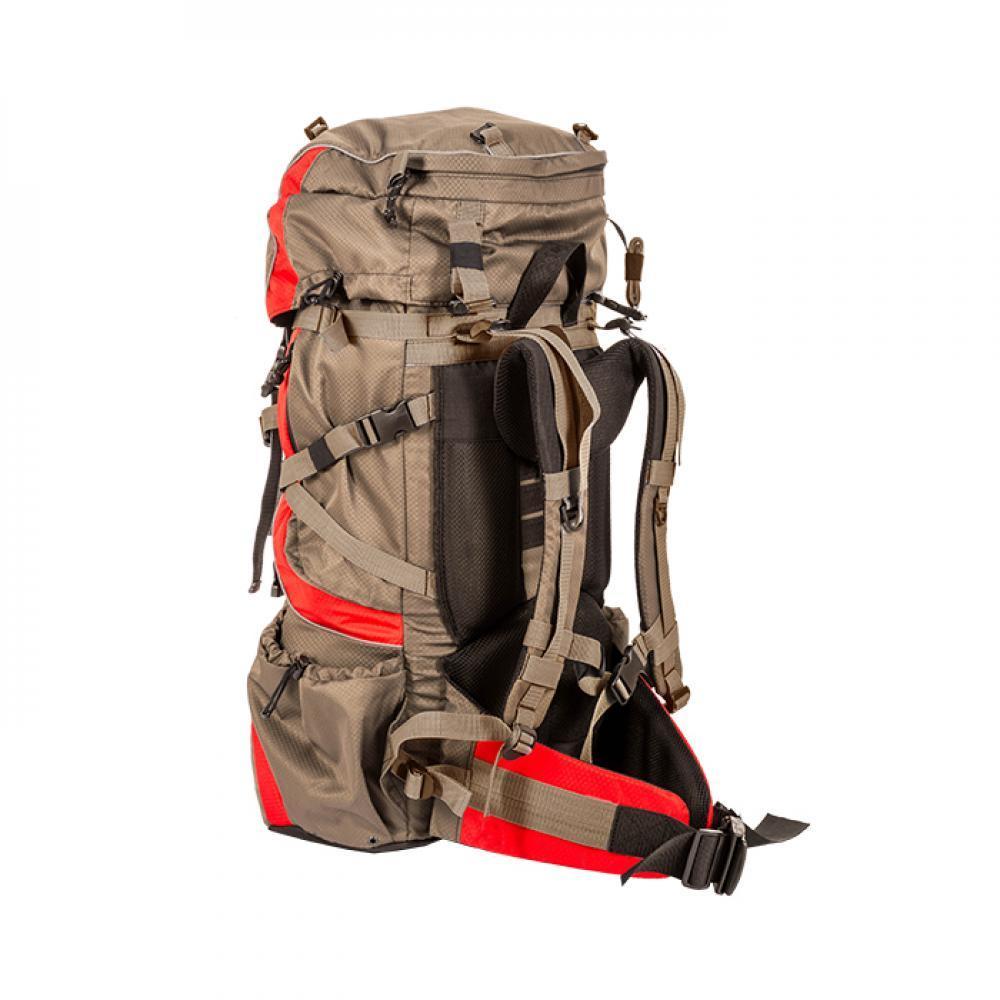 Рюкзак Горный 50 литров (серый/красный)