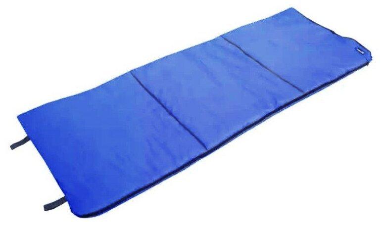 Спальный мешок БАТЫР СО-2 (185*70) синий (синтепон) Helios
