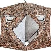 Палатка для зимней рыбалки Higashi Camo Comfort, 180х180х205см