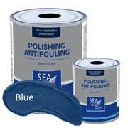 Необрастающая краска до 30 узлов Self-Polishing SeaLine Silver Cruise 2,5л, голубой