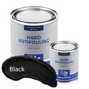 Необрастающая краска до 70 узлов SeaLine Hard Antifouling 0,75л, Черный