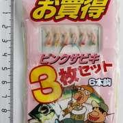 Оснастка самодур на корюшку №3 Tsuribakanisshi (0.6-1м, 3см)