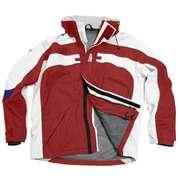 Куртка яхтенная детская красная Free sail FS Lalilaz