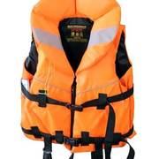 Жилет спасательный сертифицированый Ifrit, оранжевый, до 70кг