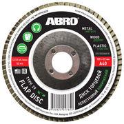 Диск торцевой лепестковый конический 40 (125 мм х 22,23 мм) ABRO