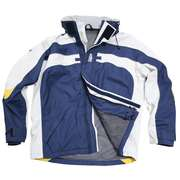 Куртка яхтенная мужская синяя Free sail FS Lalilaz