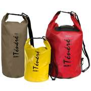 Гермомешок рюкзак желтый 550x200мм Tenere, 10 литров