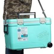 Термобокс SHINWA Holiday Land Cooler 27H, бирюза
