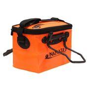 Сумка-кан Namazu складная с 2 ручками, размер 40*24*24, материал ПВХ, цвет оранжевый