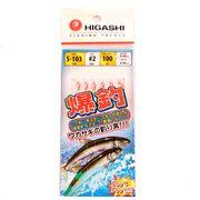Оснастка самодур на корюшку Higashi S-103 Pink