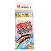 Оснастка самодур на корюшку Higashi S-102 Blue