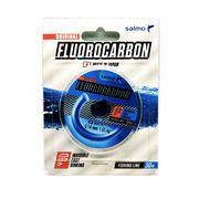 Леска монофильная флюорокарбоновая Salmo Flurocarbon 30м, 0,14мм