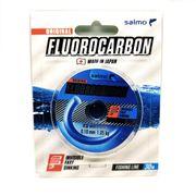 Леска монофильная флюорокарбоновая Salmo Flurocarbon 30м, 0,10мм купить c доставкой