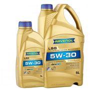 Масло моторное синтетическое Ravenol LSG SAE 5W30, 5 литров