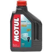 Масло моторное минеральное Motul Outboard 2T, 1 литр