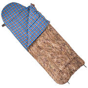Спальный мешок с подголовником (одеяло, комбинированный, 1,0-1,8 м)