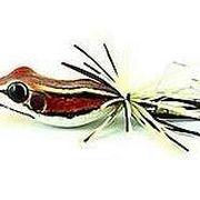 Приманка лягушка Smiling Frog Mini бордо 4,5см 6,5г