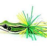Приманка лягушка Smiling Frog Mini зеленая 4,5см 6,5г