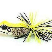 Приманка лягушка Smiling Frog Mini желтая 4,5см 6,5г