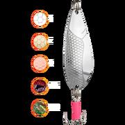 Блесна колеблющаяся Mikado Dancer №4 23гр 8,5см - серебро