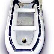 Лодка надувная ПВХ 3,0 метра Фарватер темно-серая надувной пол (Рассрочка)
