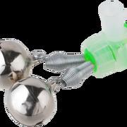 Колокольчик двойной с металлическим зажимом Mikado, №18
