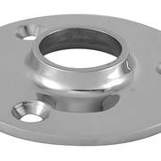Основание леера круглое опорное нержавеющее 90° ф22мм