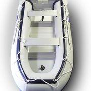 Лодка надувная ПВХ 3,3 метра Фарватер серая алюминиевый пол (Рассрочка)