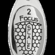 Блесна вращающаяся Mikado Focus №2 серебро 25