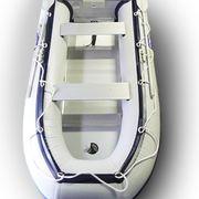 Лодка надувная Хайпалон Фарватер 2,3 метра алюминиевый пол серая (Рассрочка)